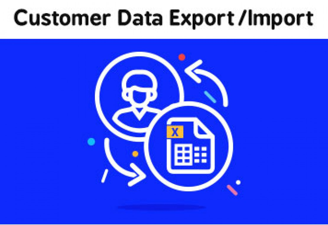 Documentation - Customer Data Import Export