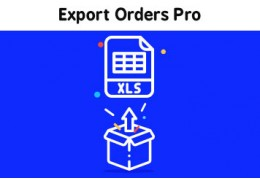 Documentation - Export Orders to Excel Pro